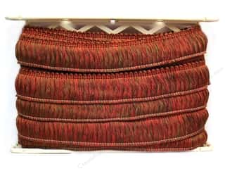 Clearance: Conso Alexander Brush Fringe 2 in. Cocoa Coral (12 yards)