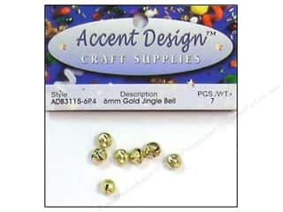 PA Essentials Jingle Bells 1/4 in. 7 pc. Gold