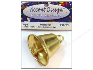 craft & hobbies: PA Essentials Liberty Bell 1 3/4 in. 1 pc. Gold
