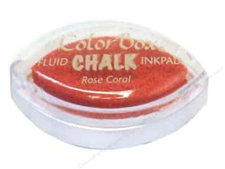 Clearance ColorBox Fluid Chalk Ink Pad Queues: ColorBox Fluid Chalk Ink Pad Cat's Eye Rose Coral