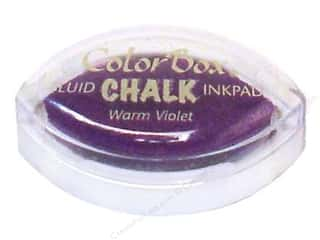 Clearance ColorBox Fluid Chalk Ink Pad Queues: ColorBox Fluid Chalk Inkpad Cat's Eye Warm Violet