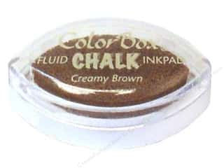 stamps: ColorBox Fluid Chalk Ink Pad Cat's Eye Creamy Brown