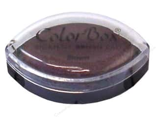 stamps: Colorbox Cat's Eye Pigment Inkpad Brown