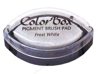 stamps: Colorbox Cat's Eye Pigment Inkpad Frost White