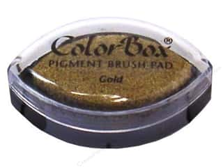 scrapbooking & paper crafts: Colorbox Cat's Eye Pigment Inkpad Metallic Gold
