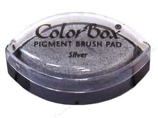 stamps: Colorbox Cat's Eye Pigment Inkpad Metallic Silver