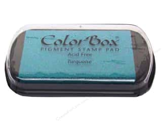 Colorbox Full Size Pigment Inkpad Turquoise