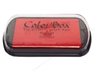 embossing ink: Colorbox Full Size Pigment Inkpad Cranberry