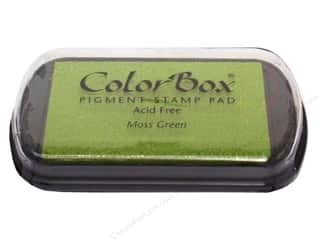 stamps: Colorbox Full Size Pigment Inkpad Moss Green