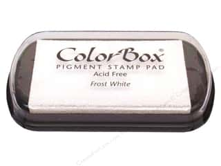 Colorbox Full Size Pigment Inkpad Frost White