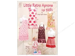 Taylor Made Little Retro Aprons For Kids Book