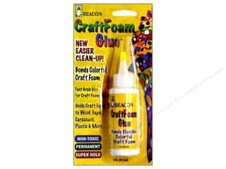 craft foam: Beacon CraftFoam Glue 2 oz.