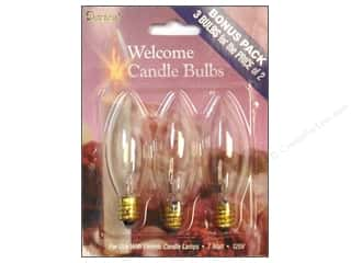 Darice Candle Lamp Replacement Bulb for 6078 Lamp 3 pc.
