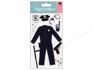 3-D Stickers / Fuzzy Stickers / Foam Stickers: Jolee's Boutique Stickers Large Police Officer