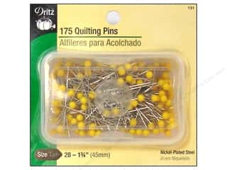 Quilting Pins by Dritz Size 28 Yellow Head 175pc.