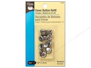 Buttons: Dritz Cover Button Refill - 1/2 in. 7 pc.