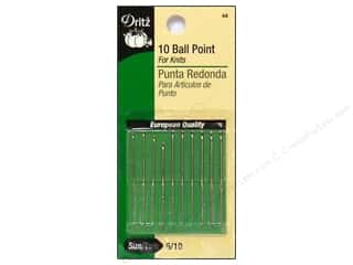 Dritz Ball Point Needles Size 5/10 10 pc.