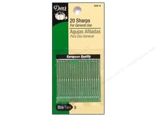 Dritz Sharps Hand Needles Size 8 20 pc.