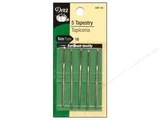 bent tip tapestry needle: Tapestry Needles by Dritz Size 16 5pc (3 packages)