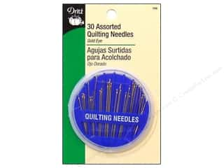 Dritz Quilting Needles 30 pc. Assorted