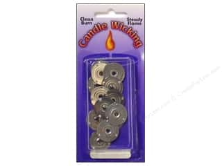 candle wick tab: Pepperell Candle Wick Tab Sustainers 20mm 12pc
