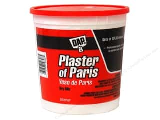 resin: DAP Plaster of Paris Dry Mix 4 lb Tub