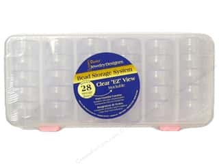 Jewelry Organizers: Darice Jewelry Designer Bead Storage System With 28 Containers