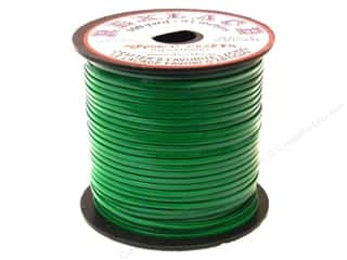 beading & jewelry making supplies: Pepperell Rexlace Craft Lace 100 yd. Kelly Green