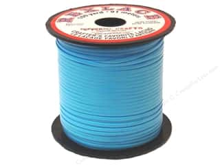 beading & jewelry making supplies: Pepperell Rexlace Craft Lace 100 yd. Baby Blue