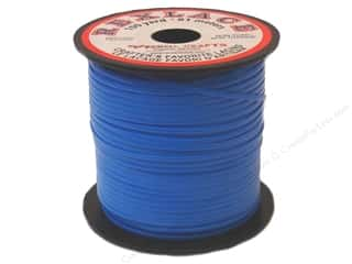 beading & jewelry making supplies: Pepperell Rexlace Craft Lace 100 yd. Neon Blue