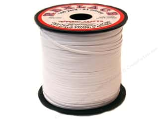 beading & jewelry making supplies: Pepperell Rexlace Craft Lace 100 yd. White
