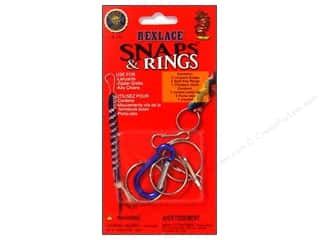 beading & jewelry making supplies: Pepperell Rexlace Snaps & Rings Pack