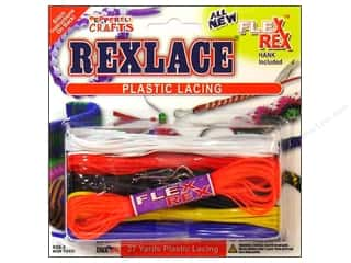 beading & jewelry making supplies: Pepperell Rexlace Craft Lace 27 yd. Cool Combo Basic