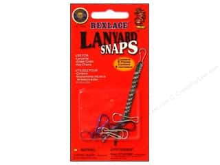 craft & hobbies: Pepperell Rexlace Lanyard Snaps 6pc