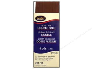 Wrights Double Fold Bias Tape 4 yd. Mocha