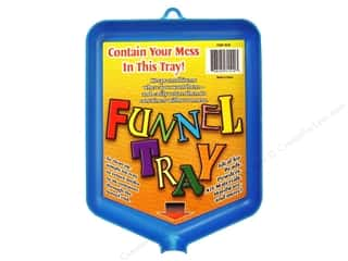 craft & hobbies: Tidy Crafts Funnel Tray 6 x 8 in.