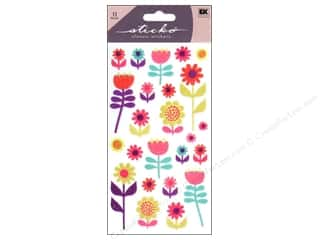 EK Sticko Stickers Flower Gallery