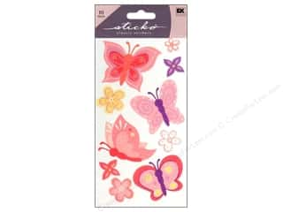 EK Sticko Stickers Pretty Butterfly