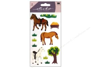 scrapbooking & paper crafts: EK Sticko Stickers Horse