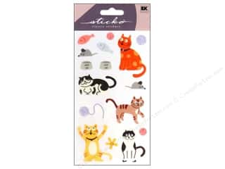 stickers: EK Sticko Stickers Cat
