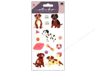 scrapbooking & paper crafts: EK Sticko Stickers Puppies