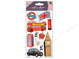 scrapbooking & paper crafts: EK Sticko Stickers London