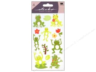theme stickers: EK Sticko Stickers Frog World