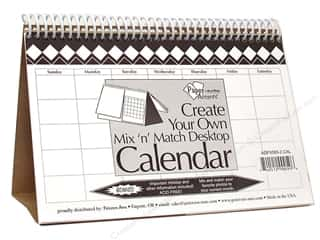 Paper Accents Desktop Calendar 5 1/2 x 8 1/2 in. Mix n Match