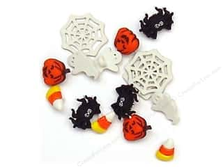 Buttons: Jesse James Dress It Up Embellishments Halloween Collection Things That Make You Go Boo