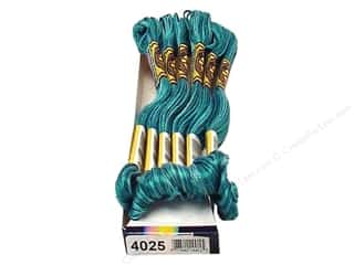 yarn: DMC Color Variations Floss 8.7 yd. #4025 Caribbean Bay (6 skeins)