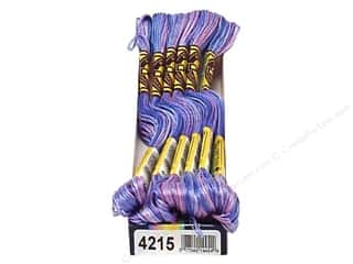 yarn: DMC Color Variations Floss 8.7 yd. #4215 Northern Lights (6 skeins)