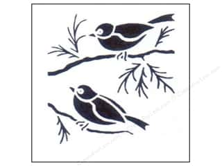 craft & hobbies: StenSource Painting Stencil Sparrows