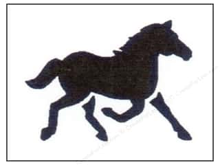 craft & hobbies: StenSource Painting Stencil 5 in. Running Horse