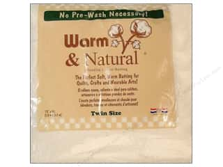 needle punch batting: The Warm Company Warm and Natural Cotton Batting Twin 70 x 90 in.